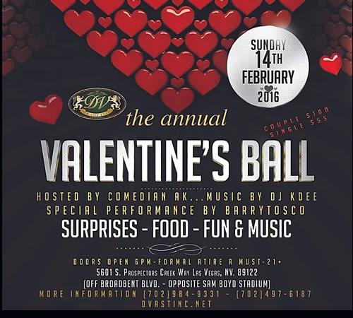 Valentine's Ball 2016