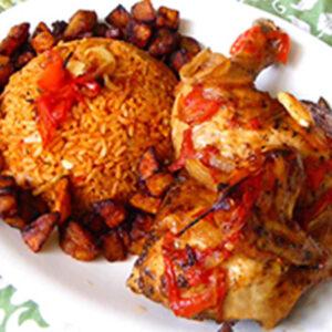 Elite Coconut Rice & Chicken